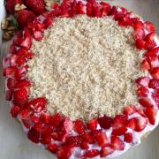 ягодова торта, без глутен, без захар
