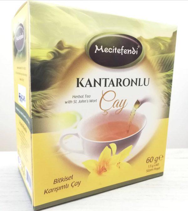 Билков чай с жълт кантарион